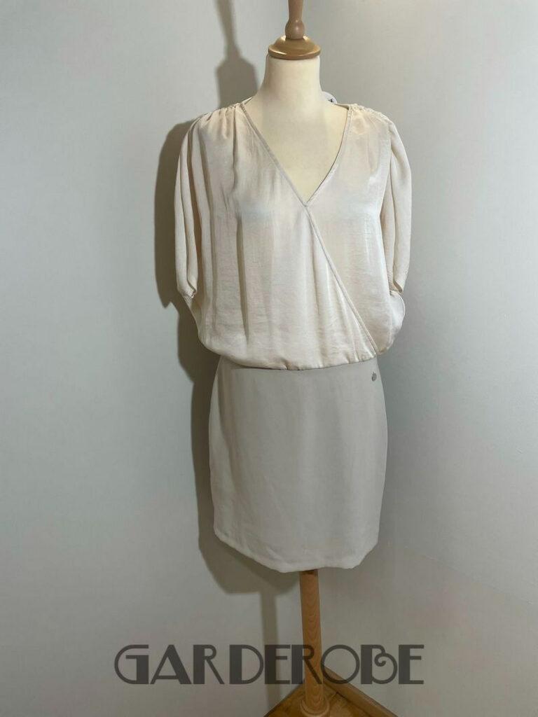 Beige/ecru jurk Fairly Italy