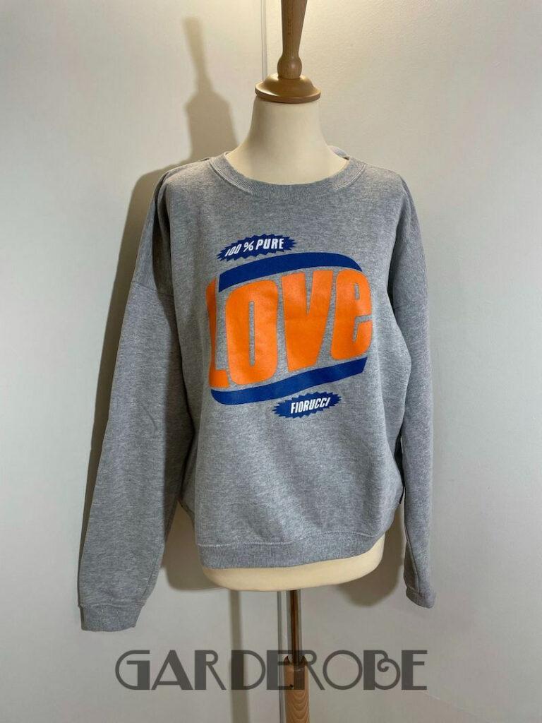 Grijze Fiorucci sweater