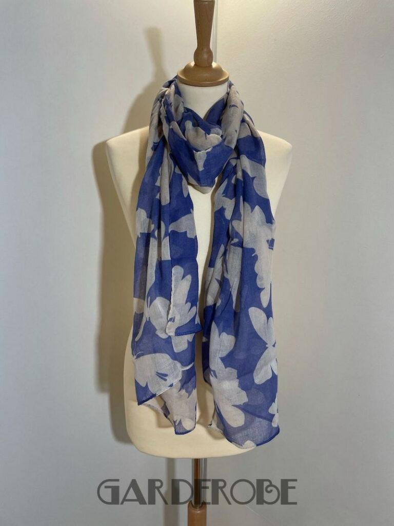 Lila/beige sjaal Victorio & Lucchino