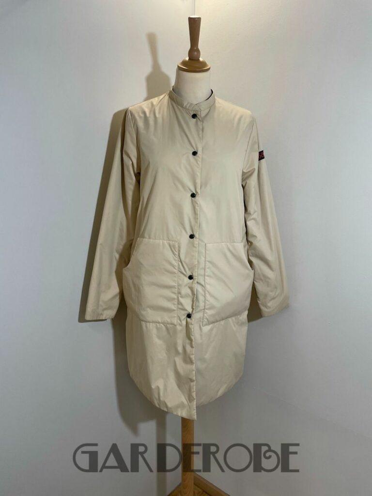 OOF omkeerbare mantel beige/taupe