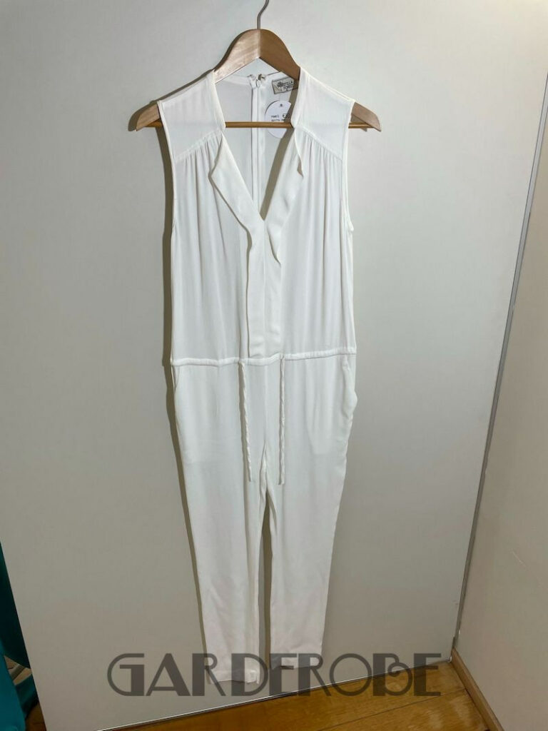 Witte playsuit Stella Forest
