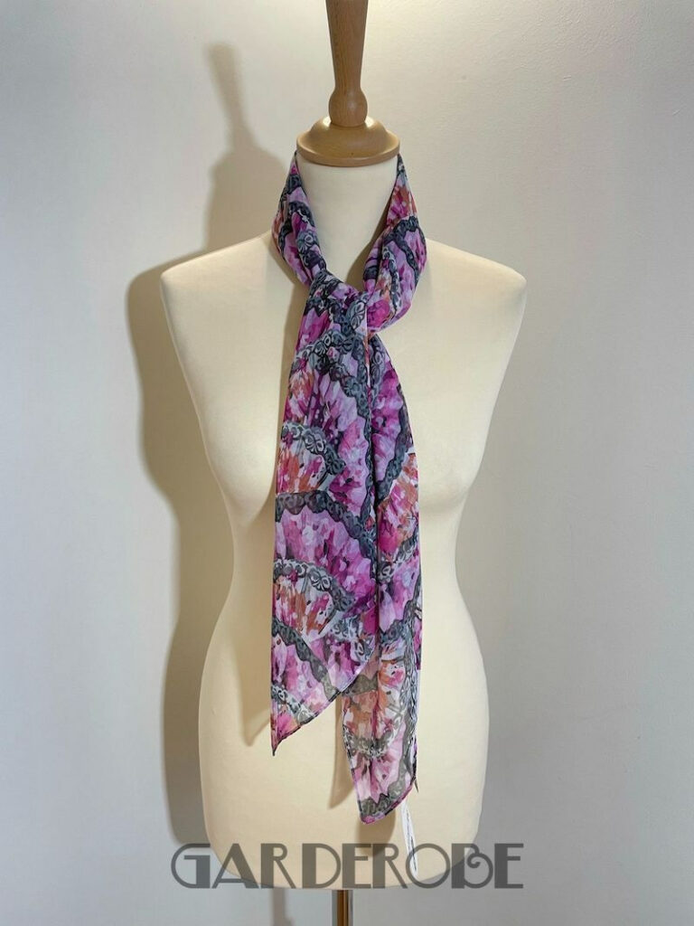 gebloemde sjaal Victorio & Lucchino